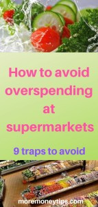 How to avoid overspending at supermarkets