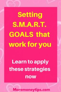 Setting SMART goals that work for you