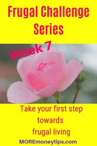 Frugal Challenge Series. Take your first step towards frugal living.