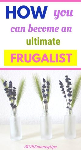 How you can become an ultimate frugalist