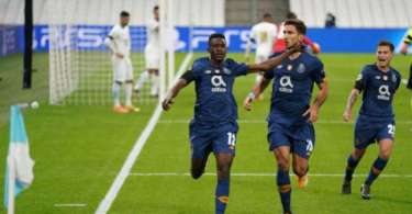 Zaidu Sanusi nets maiden Champions League goal in Porto's win over Marseille