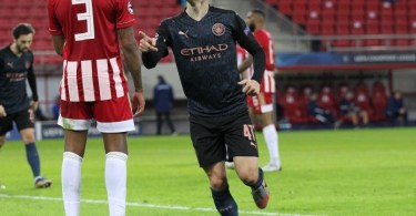UCL: Manchester City Edge Past Olympiakos In Greece