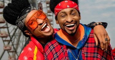 """""""Time To Start Questioning Our Parents"""" Denrele Declares As He Meets And Poses With His Lookalike (Photos)"""