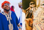 Davido stuns in royal outfits as he celebrates his 28th birthday (Photos)