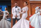 Williams Uchemba appreciates fans as he releases official wedding photos