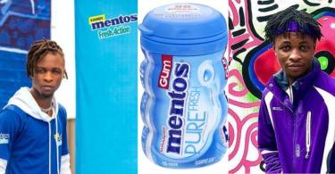 Laycon Bags New Ambassadorial Deal With Mentos Nigeria