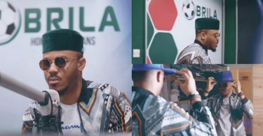 Ozo fulfills his dream of becoming an OAP as he joins Brila FM (Video)