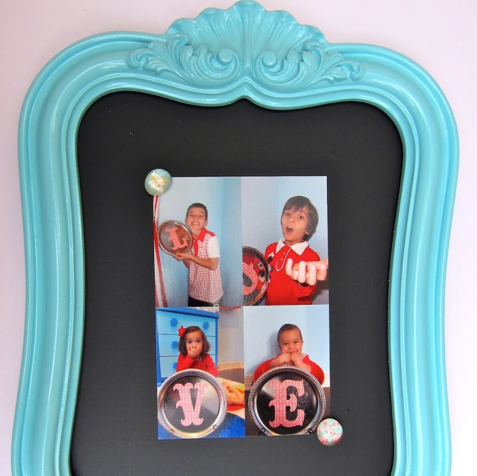 photo prop for DIY father's day gift