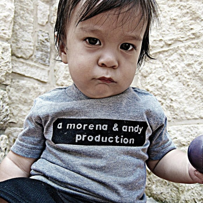 Learn the simplest way to make a fun painted baby shirt.