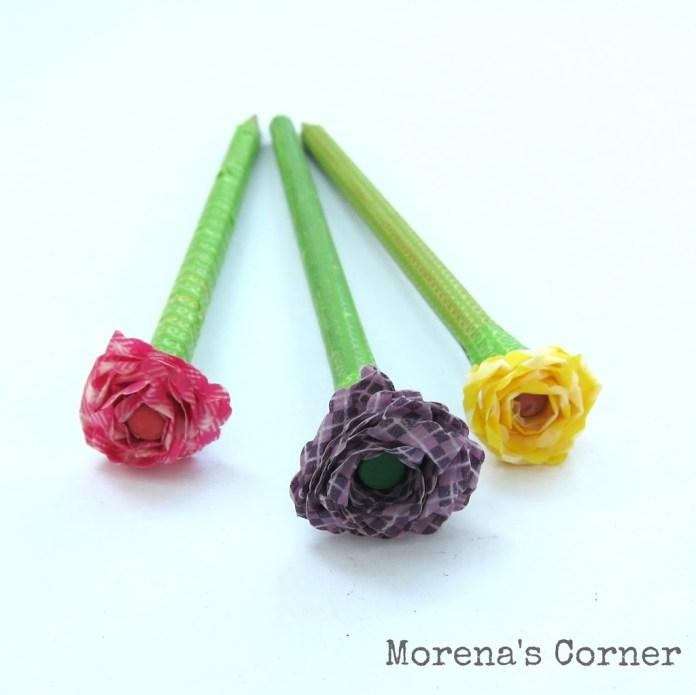 pencil-washi-flower