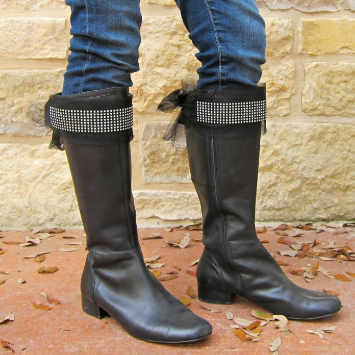 Bling-on-boots