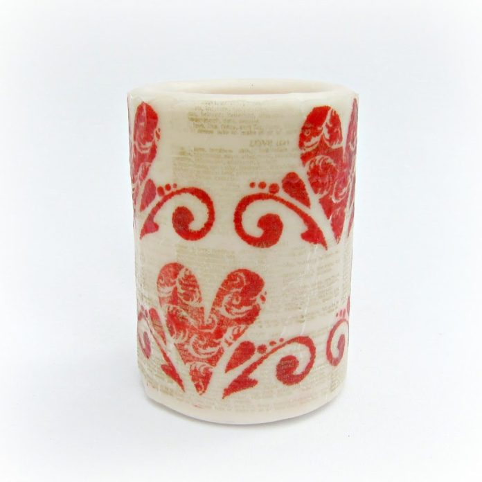 Stamped-Valentine-Candle