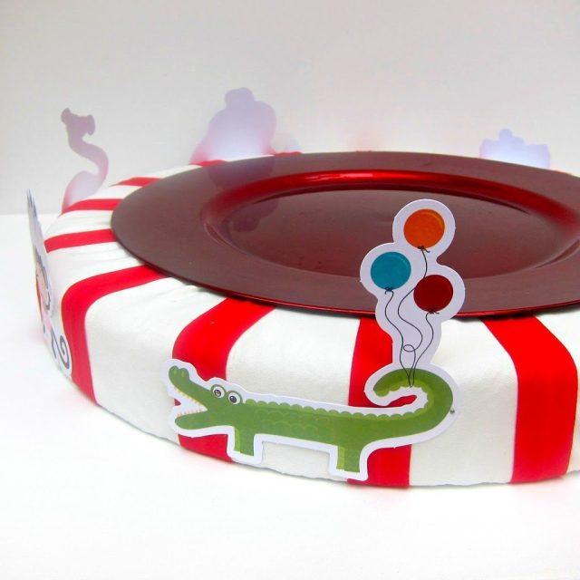 Styrofoam-Cake-Stand