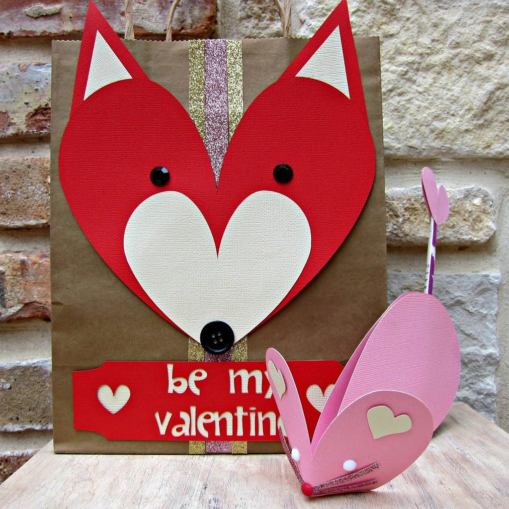 Animal Valentines Tutorial Cute Papercrafts