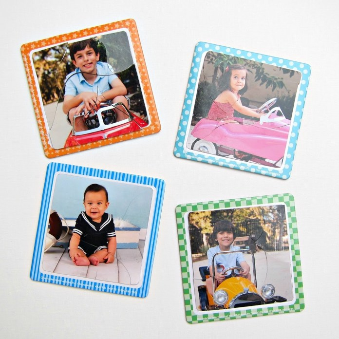Learn how to make your own photo puzzle.  Makes a great gift for kids!