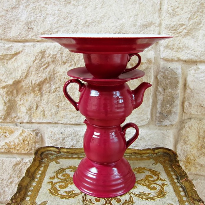 Teapot-cake-stand