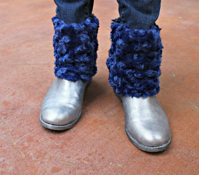 Give worn boots a makeover with paint and fabric.