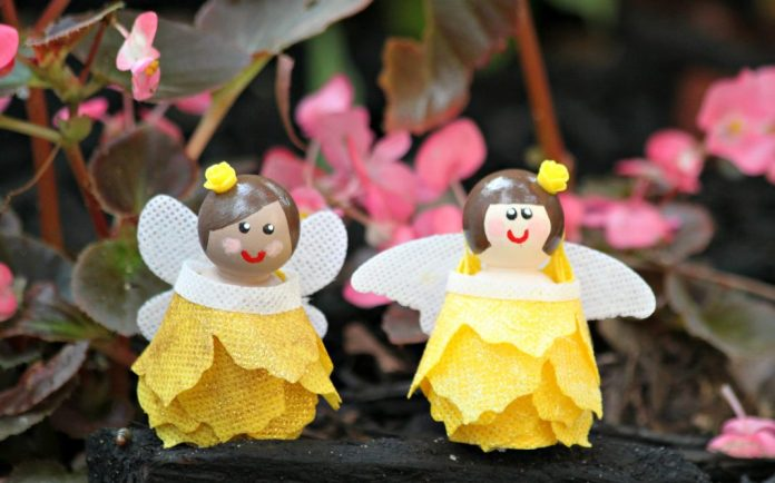 diy fairy doll