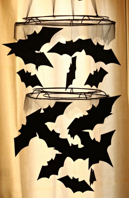 PBK Inspired Bat Chandelier