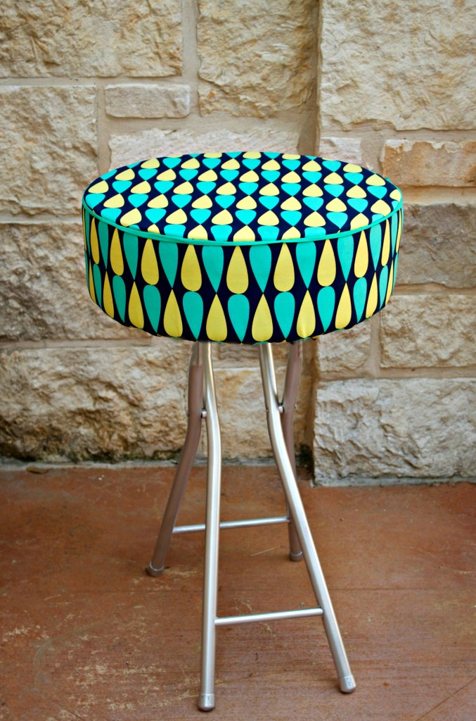 Mod Tuffet Side Table DIY
