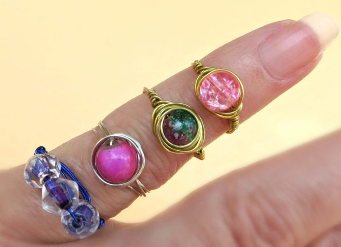 Create beautiful wire wrapped rings in minutes!