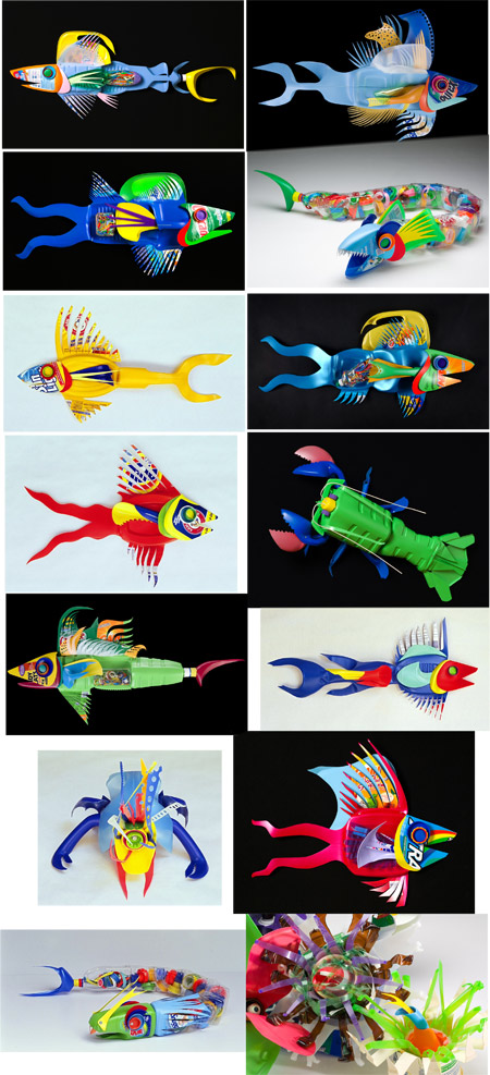 Recycled Plastic Fish