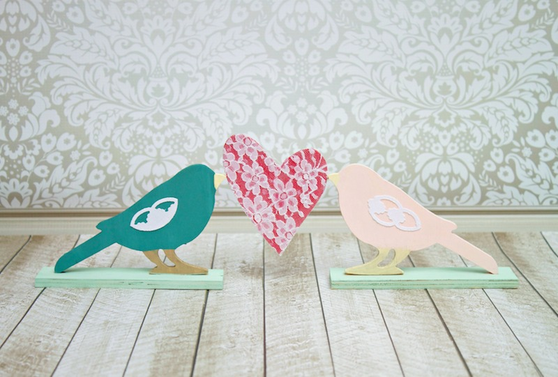 love bird decor tutorial