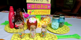 Tiki party decor to make for your next social event.