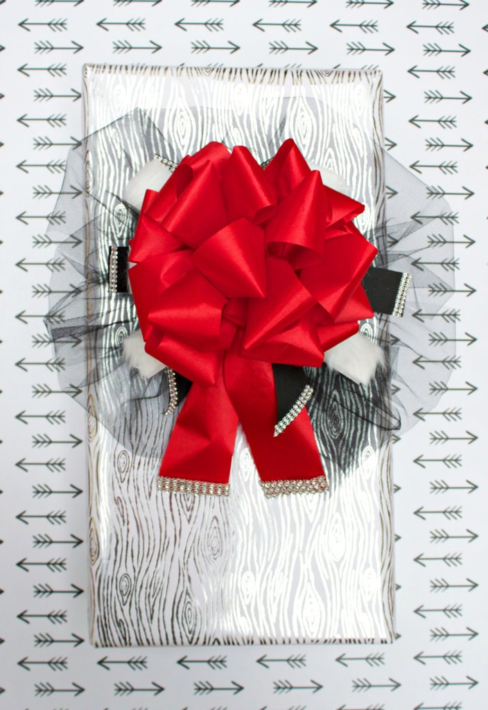 elegant holiday bow tutorial