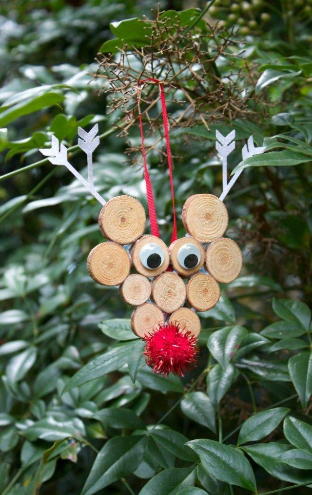 diy rudolph ornament