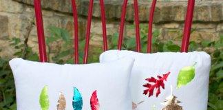 Metallic Foiled Pillows