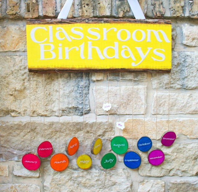 birthdays reminder sign