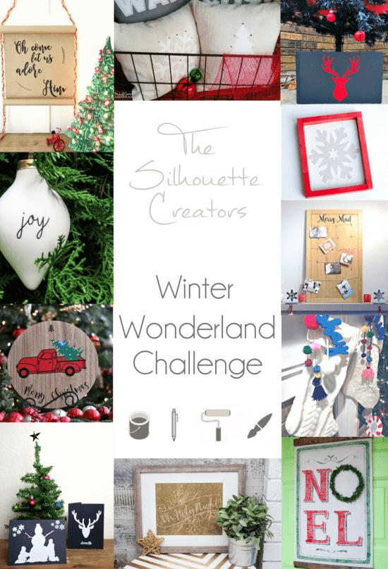 Silhouette Creators Challenge Winter Wonderland