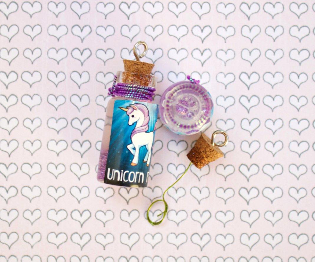 unicorn farts printable for bubble bottle