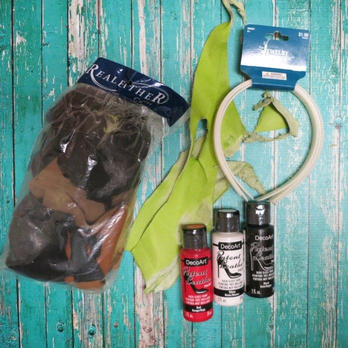 Supplies for headband diy