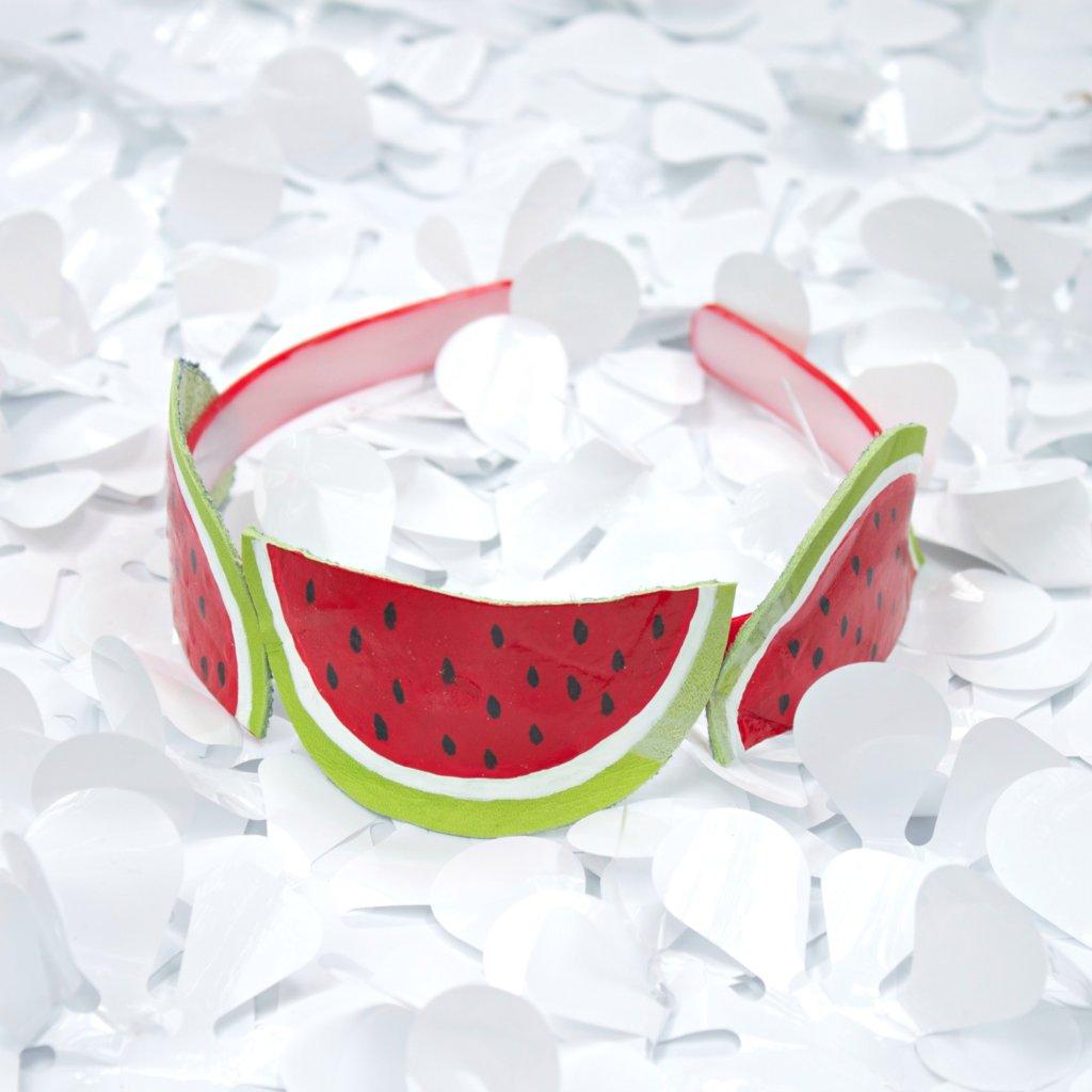 DIY watermelon Headband