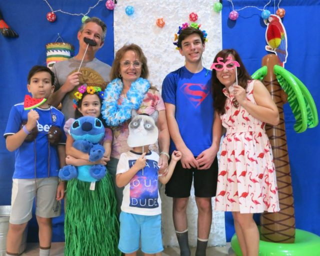 """Throw a Hawaiian party with these """"Lilo and Stitch"""" Themed birthday party ideas. This is a sponsored post with Oriental Trading Company."""