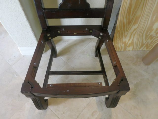 Chair Repair Learn How To Recover A Broken Dining Room