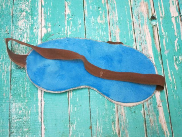 Who doesn't love Mad Eye Moody from the Harry Potter series? Make this Mad Eye Moody sleep mask to have an eye watching out for you while you sleep?.