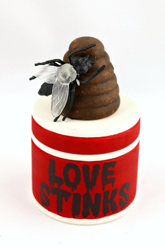 Love Stinks Valentine Gag Gift Tutorial