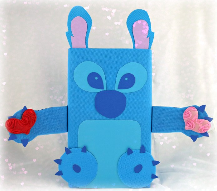 Stitch valentine box