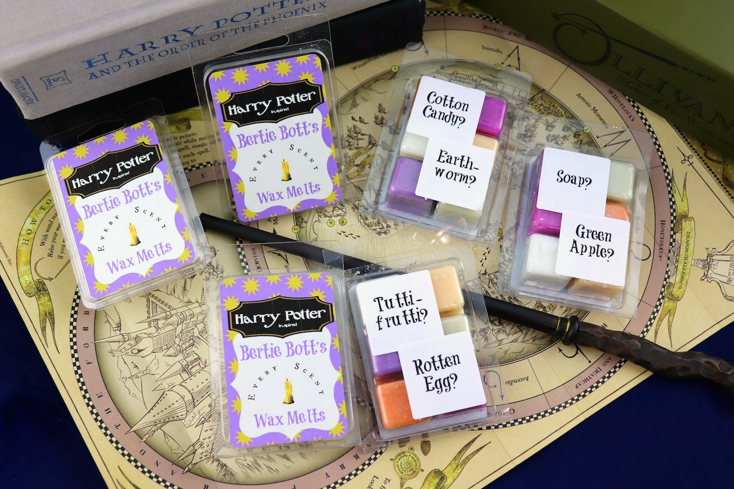 image about Bertie Botts Every Flavor Beans Printable called Bertie Botts Prank Each Odor Wax Melts - Morenas Corner