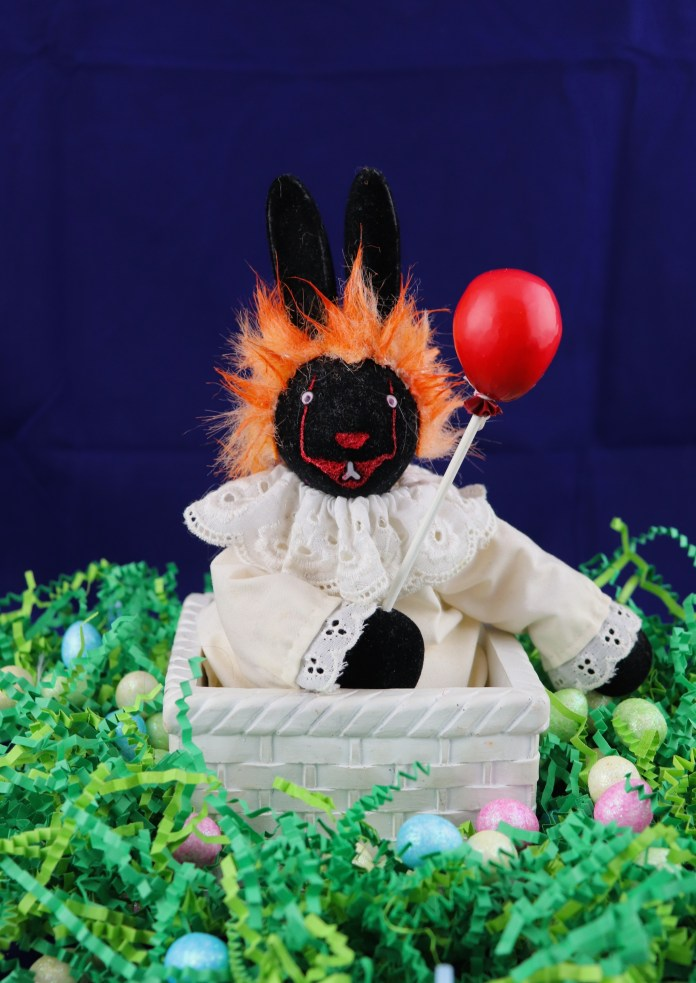 Pennywise Easter Bunny Thrift Store Flip