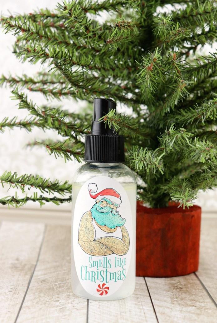 Christmas Spray DIY