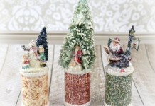 Wood Spool Christmas Decor Tutorial