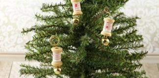 Wood Spool Ornaments