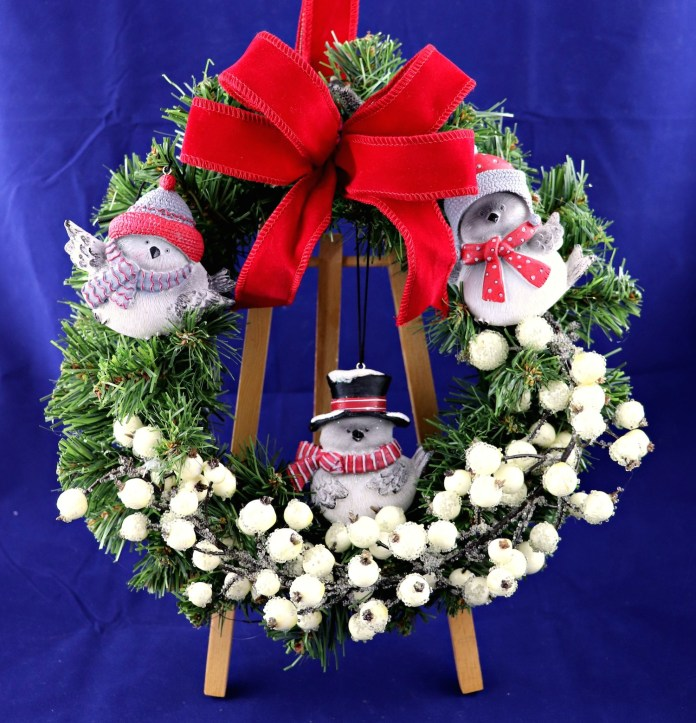 12 Days of Christmas Crafts: Woodland Wreath