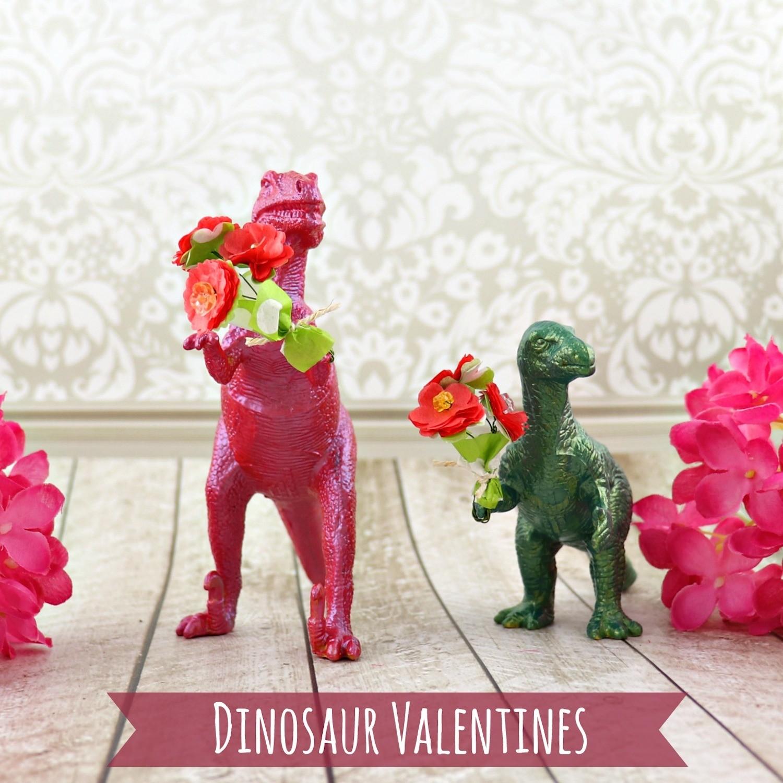 Dinosaur Valentine DIY