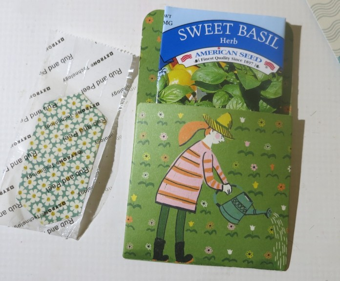 seed gift packet