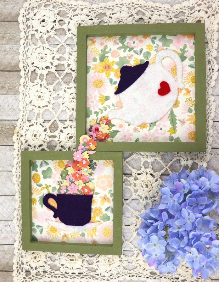 tea time wall decor